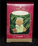Click here to enlarge image and see more about item 251h: Godchild Hallmark 1997 Ornament