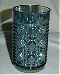 Click here to enlarge image and see more about item 251s: Indiana Carnival Glass Drinking Glass