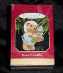 Click here to enlarge image and see more about item 253h: Sweet Friendship Hallmark Ornament