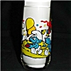 Click to view larger image of Baker Smurf Character Glass (Image2)
