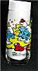 Click to view larger image of Clumsy Smurf Character Glass (Image2)