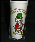 Click here to enlarge image and see more about item 273s: Coca Cola Mickey's Mcduck Glass
