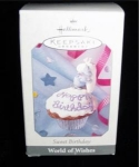 Click here to enlarge image and see more about item 274h: Sweet Birthday Hallmark Ornament