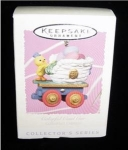 Click here to enlarge image and see more about item 275h: Colorful Coal Car Hallmark Ornament