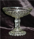 Click here to enlarge image and see more about item 276: Diamond Pattern Compote