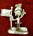 Click here to enlarge image and see more about item 2772s: Rawcliffe Warner Bros Marvin pewter figurine