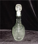 Click here to enlarge image and see more about item 277: Glass Decanter
