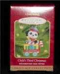 Click here to enlarge image and see more about item 278h: Child's Third Christmas Hallmark Ornament