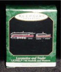 Lionel Locomotive Mini Hallmark Ornament