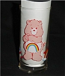Click here to enlarge image and see more about item 285s: Care Bear Cheer Bear Pizza Hut Glass