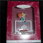 Click here to enlarge image and see more about item 286hss: Detroit Pistons NBA Hallmark Ornament