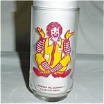 McDonalds Ronald  Glass