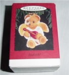 Click here to enlarge image and see more about item 293hss: Hallmark 1995  God Child Ornament