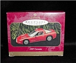 Click here to enlarge image and see more about item 295hss: 1997 Hallmark Ornament 1997 Corvette