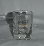 Click here to enlarge image and see more about item 296: Jack Daniels Whiskey Shot Glass