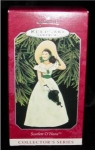 Click here to enlarge image and see more about item 29h: Scarlet O'Hara Hallmark Ornament