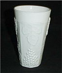 Click here to enlarge image and see more about item 304s: Indiana Milk Glass Drinking Glass