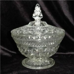 Click here to enlarge image and see more about item 309: Anchor Hocking Wexford Candy Dish
