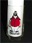 Click here to enlarge image and see more about item 310s: 1975 Brutus Coca Cola Glass