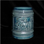Blue Pottery Beer Stein