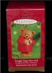 Snuggly Sugar Bear Bell Hallmark Ornament