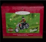 Harley Davidson 2001 Barbie Hallmark Ornament