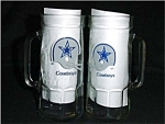 Dallas Cowboys Drinking Mugs Set of 2
