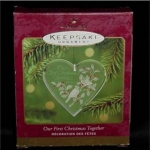 Our 1st Christmas Together Hallmark Ornament