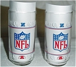 Mobile NFL Glasses Set of 2