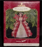 Click here to enlarge image and see more about item 347h: Holiday Barbie Hallmark Ornament