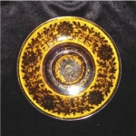 Click here to enlarge image and see more about item 348: Indiana Glass Sandwich Glass Saucer
