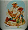 Click to view larger image of Norman Rockwell Fishing Coffee Mug (Image2)