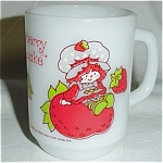 Click here to enlarge image and see more about item 359s: Anchor Hocking Strawberry Shortcake  Mug