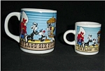Click here to enlarge image and see more about item 369s: Warner Bros. Six Flags Coffee Mug Set