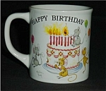 Click here to enlarge image and see more about item 371s: Happy Birthday Coffee Mug