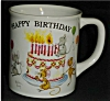 Click to view larger image of Happy Birthday Coffee Mug (Image2)