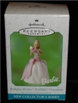 Click here to enlarge image and see more about item 373h: Birthday Wishes Barbie Hallmark Ornament