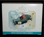 Click here to enlarge image and see more about item 37h: 1931 Ford Model A Roadster Hallmark Ornament