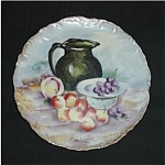 Click here to enlarge image and see more about item 397s: Fruit Pattern Plate