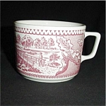 Pink Currier and Ivers Coffee Cup