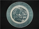 Click here to enlarge image and see more about item 415s: Royal China Currier and Ives Dinner Plate