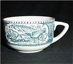 Currier and Ives Coffee Cup