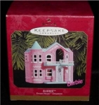 Click here to enlarge image and see more about item 421h: Barbie Dreamhouse Hallmark Ornament