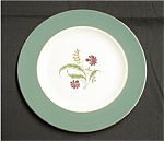Click here to enlarge image and see more about item 42s: Homer Laughlin Cavalier Dinner Plate