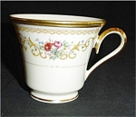 Click here to enlarge image and see more about item 430s: Lennox Queen's Garden Coffee Cup