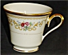 Click to view larger image of Lennox Queen's Garden Coffee Cup (Image2)