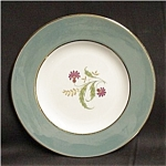 Click here to enlarge image and see more about item 43s: Homer Laughlin Cavalier Bread & Butter Plate