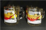 Click here to enlarge image and see more about item 443s: McDonalds Garfield Coffee Mugs Set of 4
