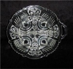 Click here to enlarge image and see more about item 446: Indiana Glass Relish Dish 2 Part