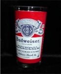 Click here to enlarge image and see more about item 450: Budwieser Drinking Glass